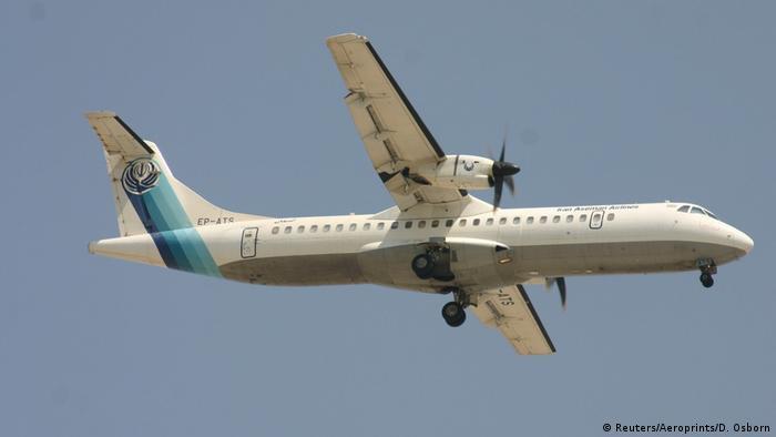 Turboprop ATR-72 belonging to Aseman Airlines abgestürzt