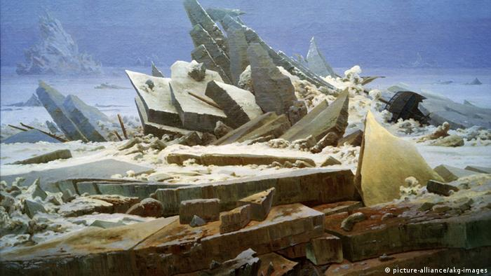 Caspar David Friedrich Gemälde Das Eismeer (picture-alliance/akg-images)