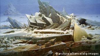 Caspar David Friedrich painting: Das Eismeer