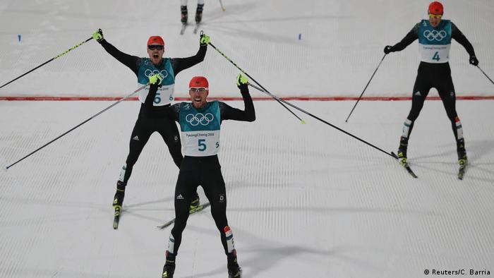 Pyeongchang Olympische Winterspiele Nordische Kombination Deutschland Gold, Silber, Bronze (Reuters/C. Barria)