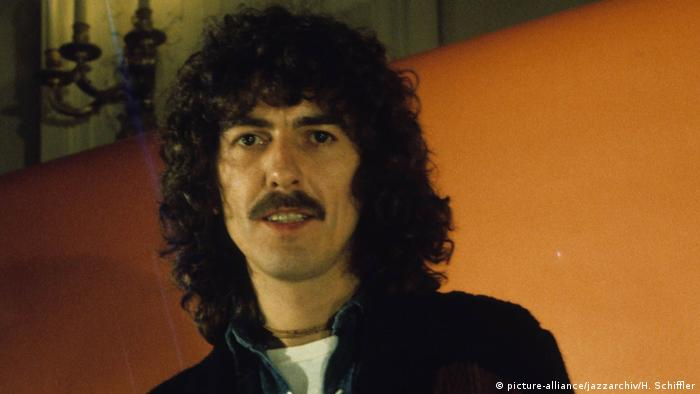 George Harrison, Portrait 70er Jahre (picture-alliance/jazzarchiv/H. Schiffler)