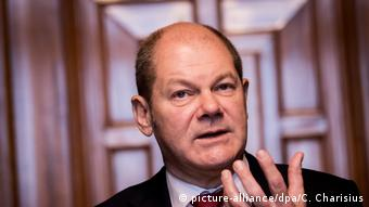 Olaf Scholz (picture-alliance/dpa/C. Charisius)
