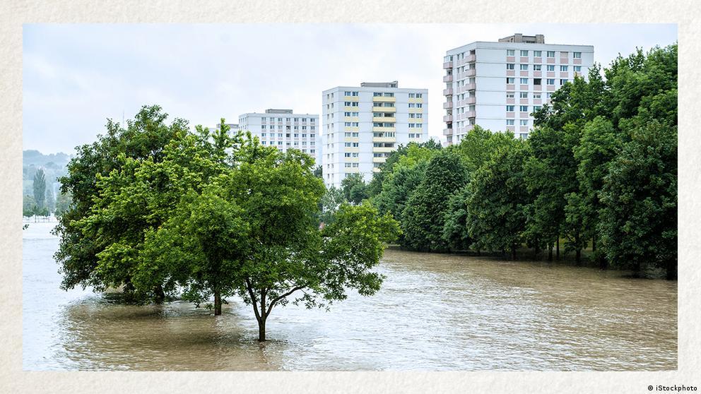 Deutschkurse | Wortschatz | WBS_Foto_Überschwemmung