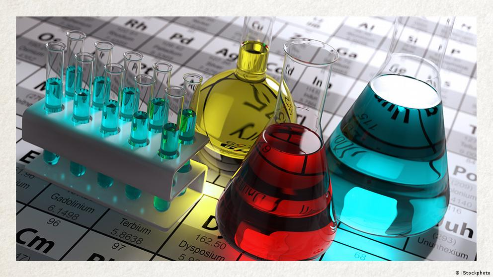 Deutschkurse   Wortschatz   WBS_Foto_Chemie