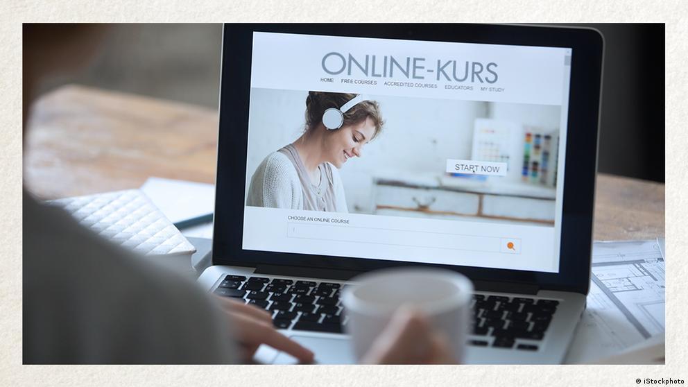 Deutschkurse | Wortschatz | WBS_Foto_Online-Kurs