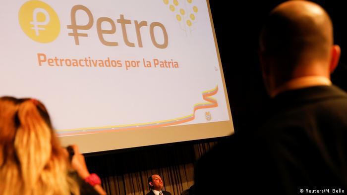 Venezuela Pläne zu Cryptowährung Petro (Reuters/M. Bello)