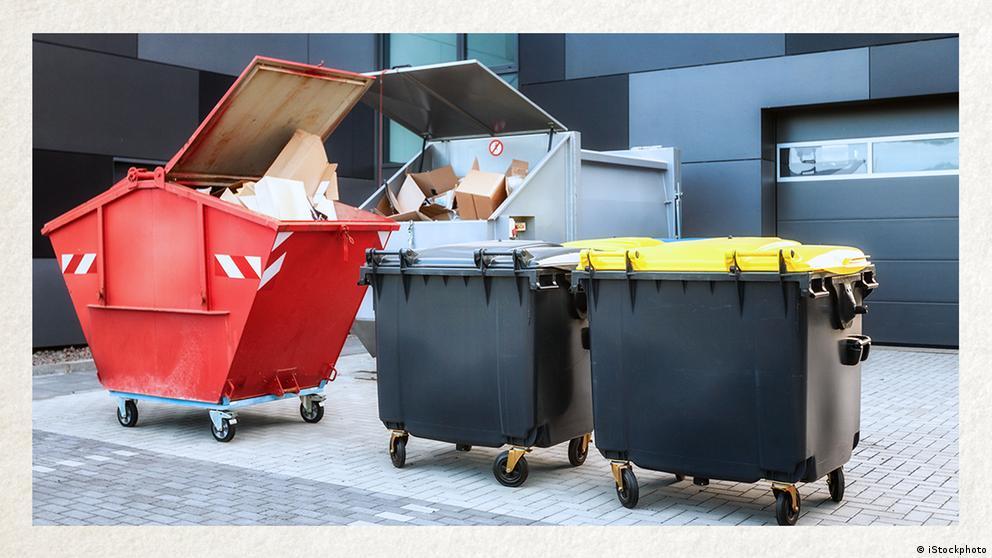 Deutschkurse | Wortschatz | WBS_Foto_Container