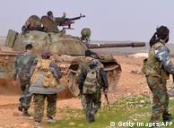 Военная операция правительственных войск Сирии (фото из архива)