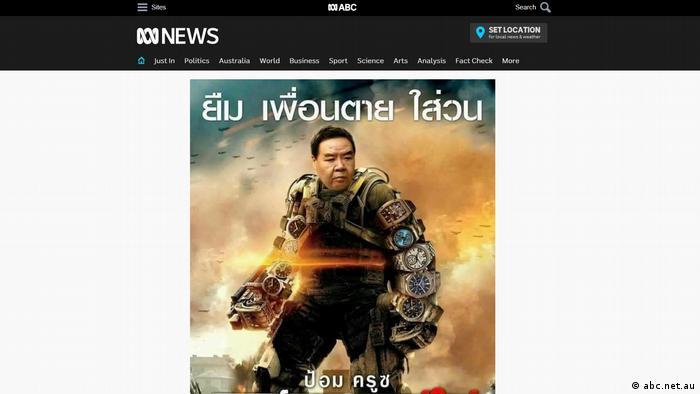 Thailand Proteste gegen Korruption des Militärs (abc.net.au)