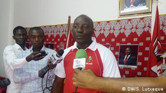 Mosambik FRELIMO Sprecher Caifadine Manasse