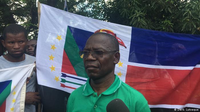 Mosambik Renamo Kandidat Paulo Vahanle