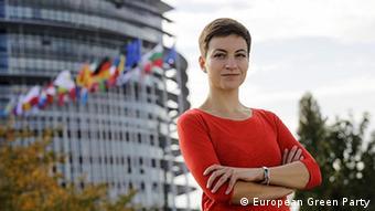 Η Σκα Κέλερ, των Ευρωπαίων Πρασίνων.