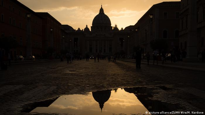 Sunset over St Peter's