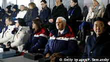 Pyeongchang 2018 Olympische Winterspiele | Eröffnungsfeier Mike Pence