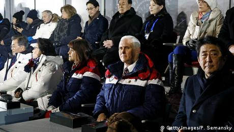 Pyeongchang 2018 Olympische Winterspiele | Eröffnungsfeier Mike Pence (Getty Images/P. Semansky)