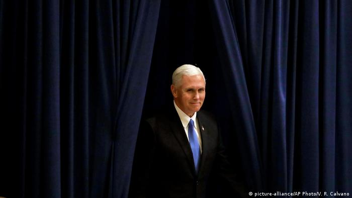 Mike Pence (picture-alliance/AP Photo/V. R. Calvano)