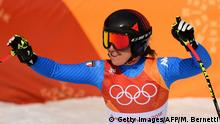 Pyeongchang 2018 Olympische Winterspiele | Damen Abfahrt Sofia Goggia (Getty Images/AFP/M. Bernetti)