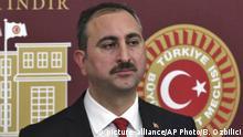Türkei Justizminister Abdulhamit Gul