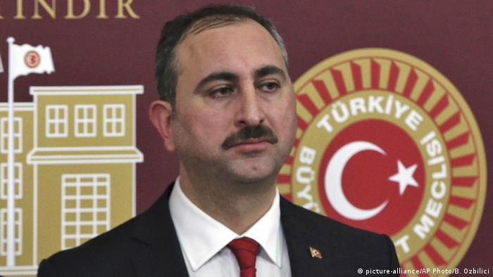Türkei Justizminister Abdulhamit Gul (picture-alliance/AP Photo/B. Ozbilici)