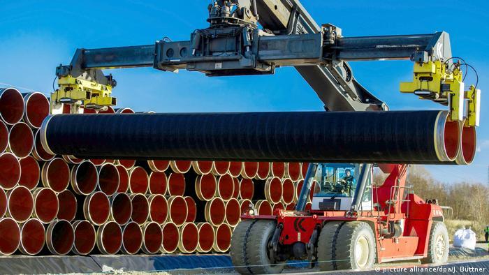 Трубы для трубопровода Северный поток-2