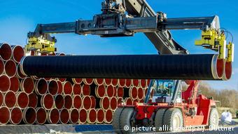 Rury do budowy Nord Stream 2
