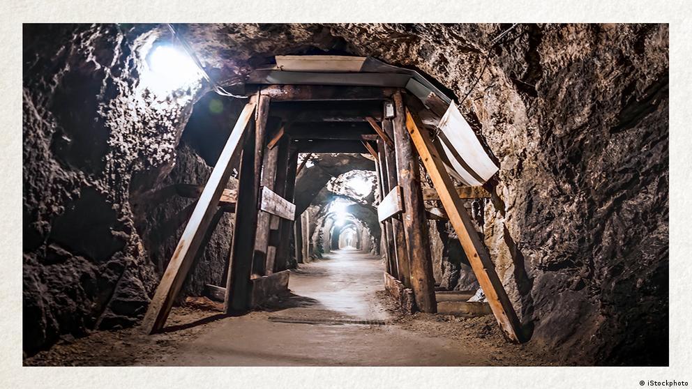 Deutschkurse | Wortschatz | WBS_Foto_Bergbau