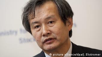 China Solar - Huang Ming von Himin Solar (picture alliance/dpa/J. Ekstromer)