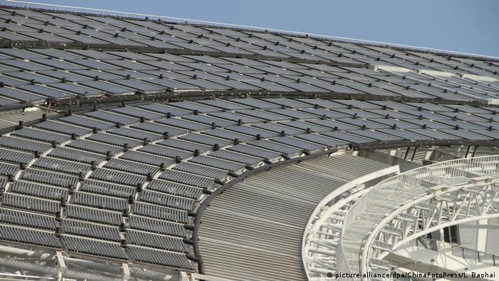 China Solar - Dezhou Solar Tal (picture-alliance/dpa/ChinaFotoPress/L. Baohai)