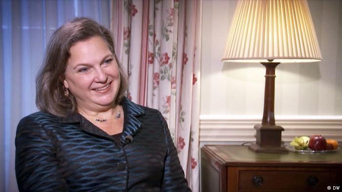Victoria Nuland DW Nemtsova.Interview
