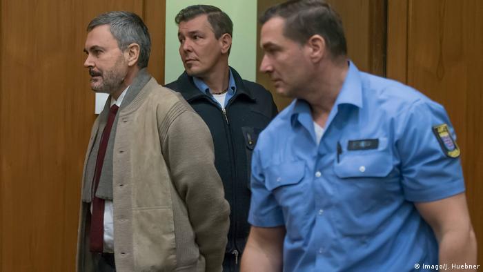 Trial against Laser man John Ausonius in Frankfurt