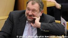 Russland Duma - Abgeordneter Vladislav Reznik