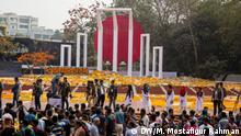 Bangladesch - International Mother Language Day in Dhaka