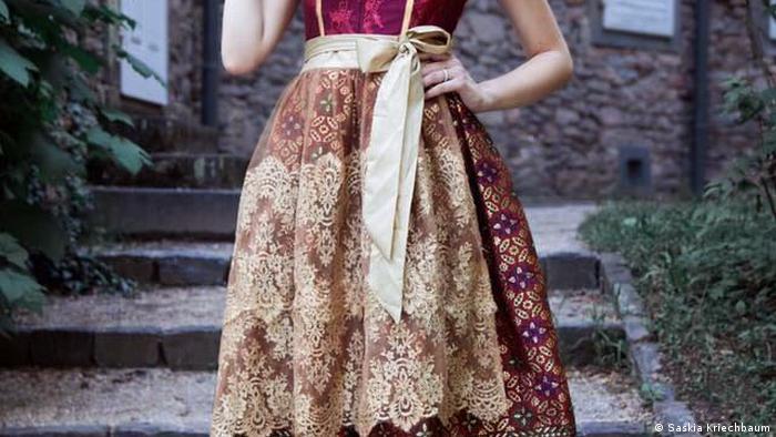 Dirndl von Shanty Sutadji (Shanty Couture) (Saskia Kriechbaum)