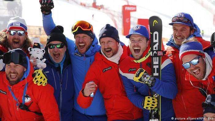 Pyeongchang 2018 - Ski alpin mit Kronprinz Haakon aus Norwegen