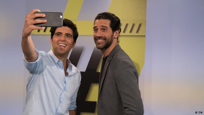DW Shababtalk - Jaafar Abdul-Karim und Ahmad Magdey (DW)