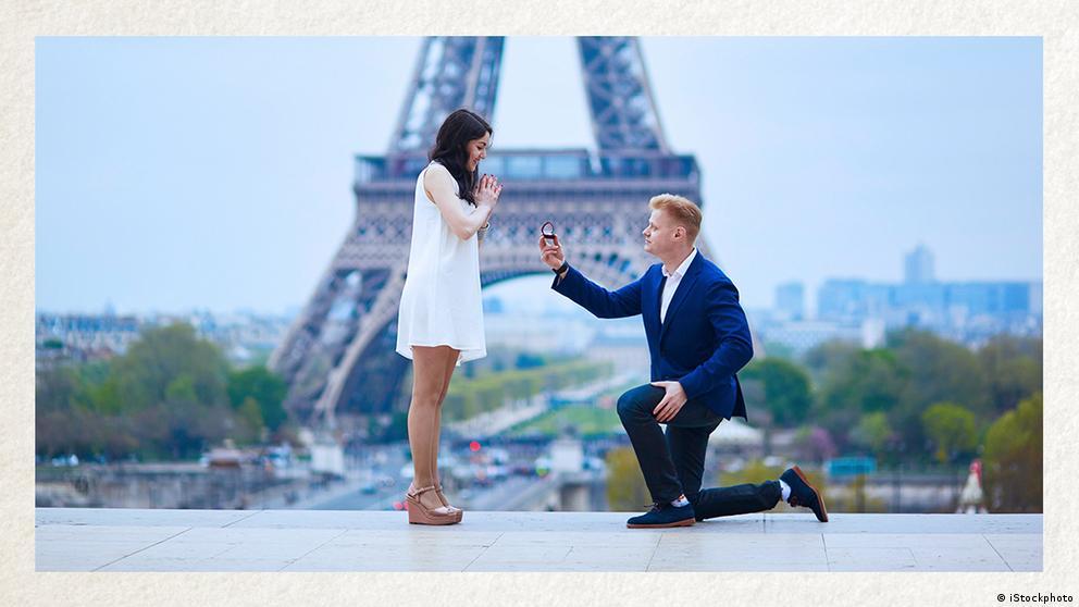 Deutschkurse | Wortschatz | WBS_Foto_Heiratsantrag