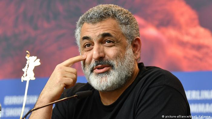 Mani Haghighi at the Berlinale press conference