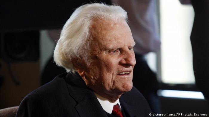 Billy Graham, pictured in 2010