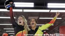 Pyeongchang 2018 - Ouro olímpico em bobsleigh para a Alemanha (picture alliance / Wong Maye-E/AP/dpa)
