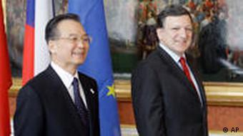China EU Treffen in Prag Tschechien