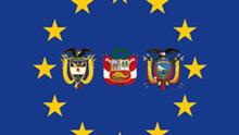 Symbolbild EU Kolumbien Ecuador Peru