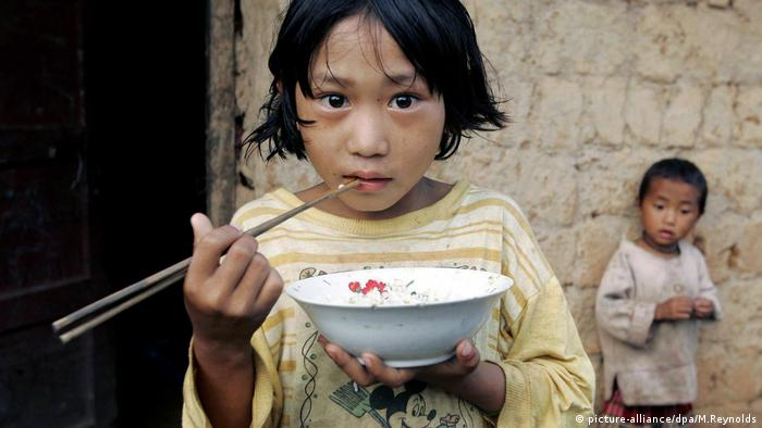 Kinder in China