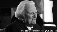 USA Billy Graham (picture-alliance/AP Photo/N. Redmond)