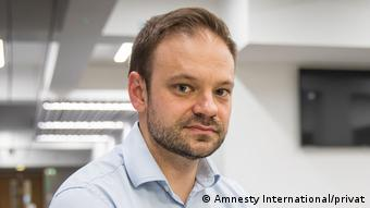 Sprecher von Amnesty International David Griffiths (Amnesty International/privat)