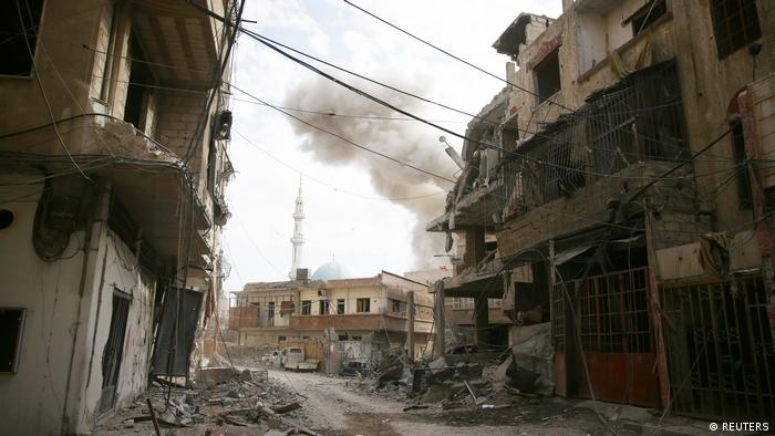 Бомбардировки Восточной Гуты 19-20 февраля 2018 года