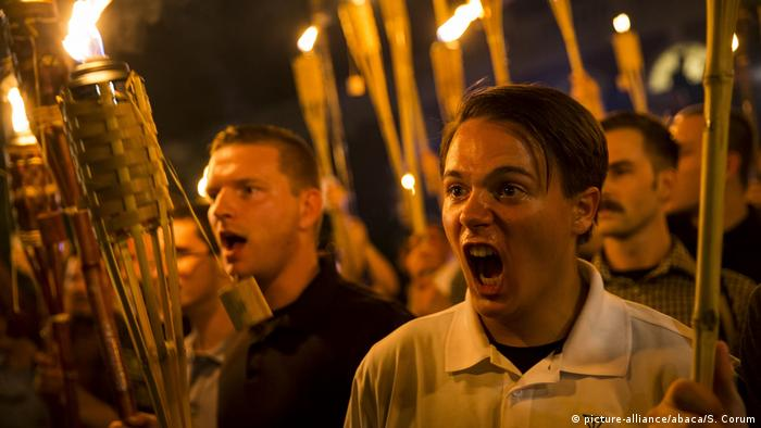 USA - White Supremacists in Charlottesville (picture-alliance/abaca/S. Corum)