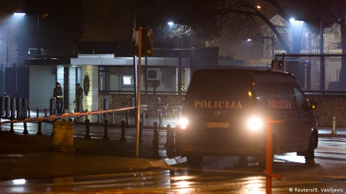 Explosive device thrown at USembassy building in Montenegro