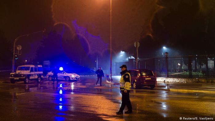 В здание посольства США в Черногории бросили гранату