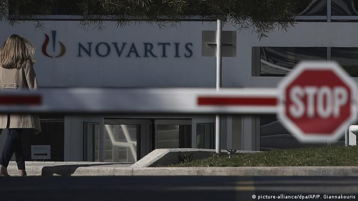 Novartis-Skandal in Griechenland (picture-alliance/dpa/AP/P. Giannakouris)