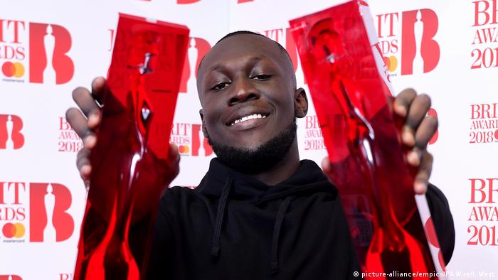 Brit Awards 2018 Stormzy (picture-alliance/empics/PA Wire/I. West)
